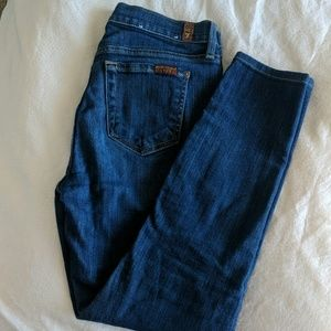 Ankle length jeans